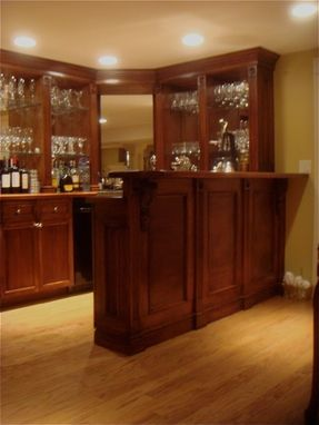 Custom Made Custom Home Bar