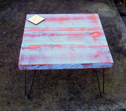 Custom Made Recycled Wood Table