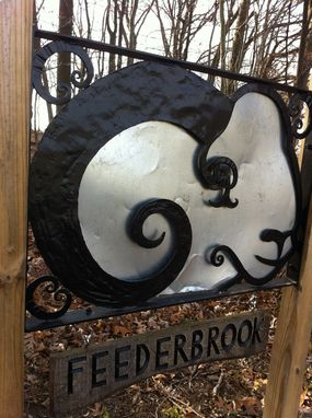 Custom Made Sheep Head Farm Sign