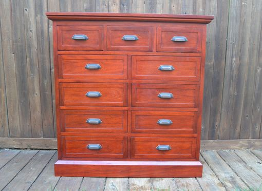 Custom Made Mahogany Dresser