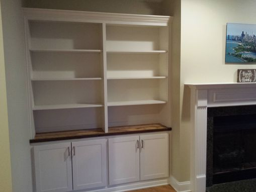 Custom Made Built-In Bookcases