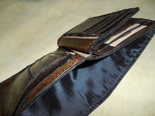 Custom Made Handmade Leather Wallet