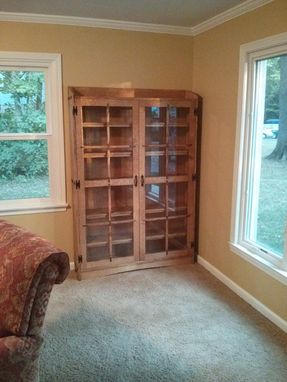 Custom Made Quartersawn Oak Mission Style Bookcase
