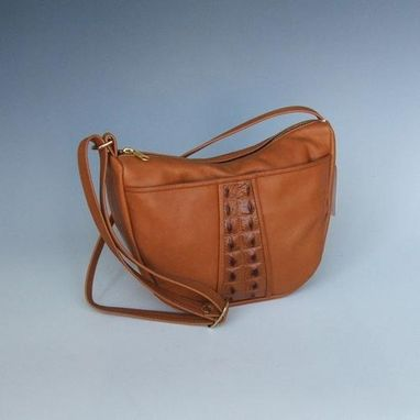 Custom Made Tiffany Brown Leather Purse