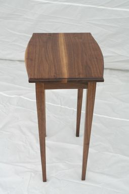 Custom Made Walnut Side Table