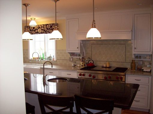 Custom Made Inset Painted Kitchen