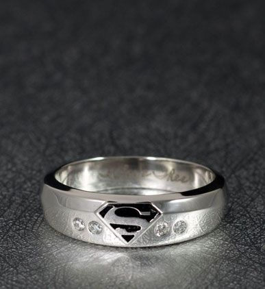 geeky rings custommadecom - Star Trek Wedding Ring