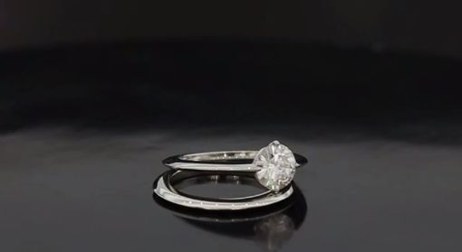 Custom Made Simple Yet Elegant Wedding Set