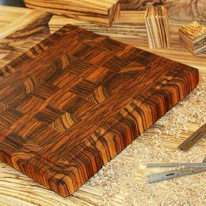 3d end grain cutting board plans. zebrawood end grain cutting board 3d plans
