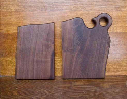 Custom Made Book Matched Cutting Board And Serving Platter