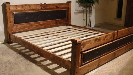 Custom Made Post King Bed
