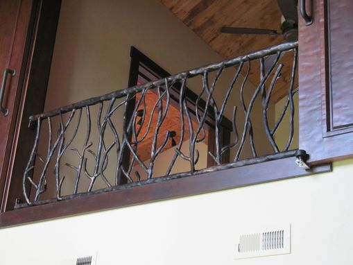 Custom Made Branch Railing