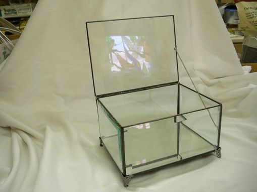 Custom Made Over-Sized Stained Glass Display Box