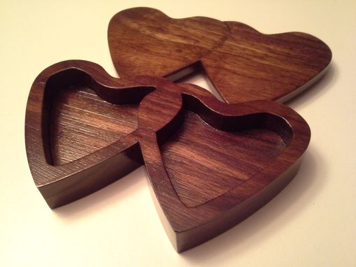 Custom Made Heart Ring Box