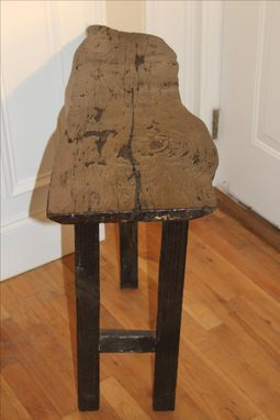 Custom Made Barn Wood Accent Table
