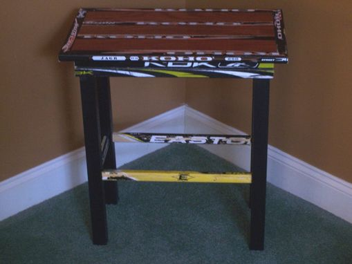 Custom Made Hockey Side Table