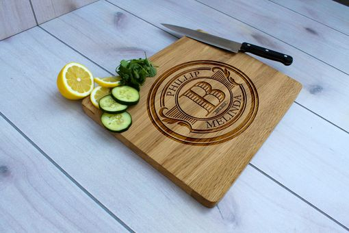 Custom Made Personalized Cutting Board, Engraved Cutting Board, Custom Wedding Gift – Cb-Wo-Phillip Melinda