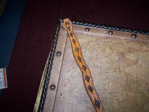 "Custom Made Custom Made ""Rattlesnake"" Belt"
