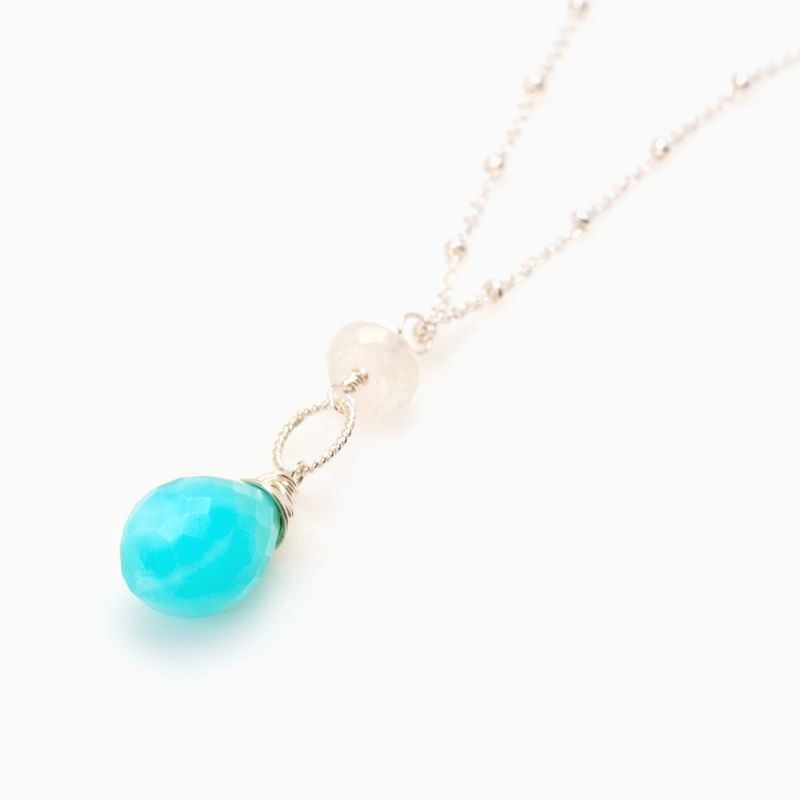 Buy a hand crafted pendant necklace with long silver chain made to custom made pendant necklace with long silver chain aloadofball Choice Image