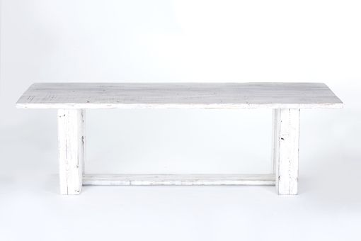 Custom Made French Country Table, Reclaimed Pine