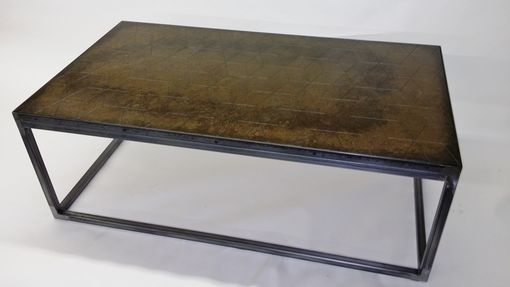 Custom Made Metal Coffee Table