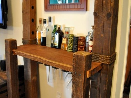 Custom Made Tobacco Barn Bar
