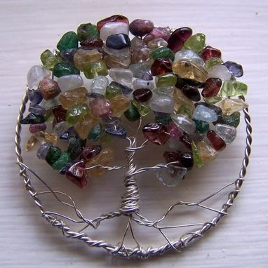 Custom Made Birthstone Family Trees