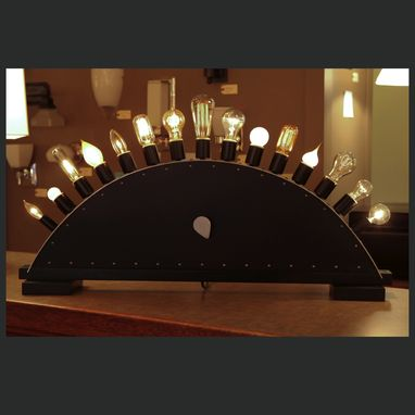 Custom Made Showroom Light Bulb Display