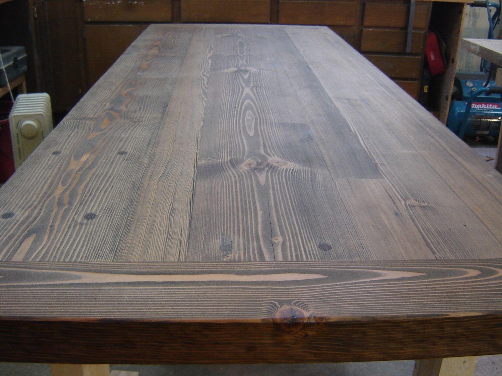 Handmade Reclaimed Douglas Fir Dinning Tables By