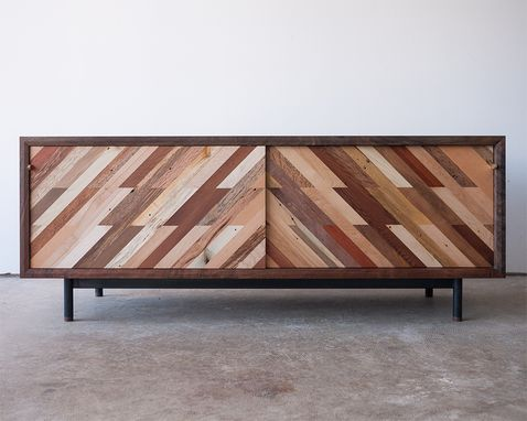 Custom Made Patterned Low Media Console