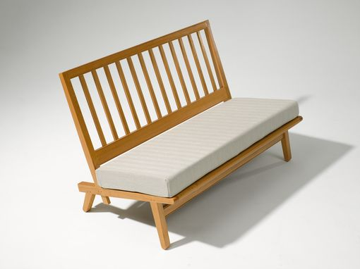 Custom Made Slat Back Settee