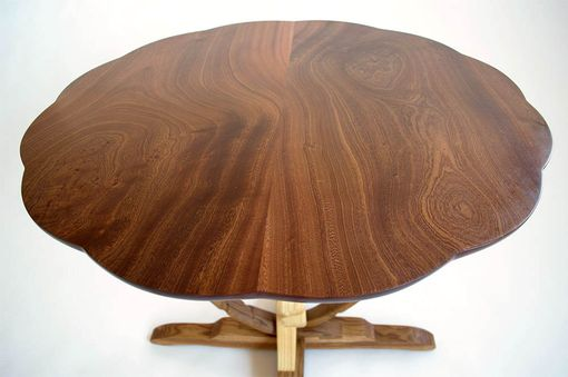 Custom Made Hand Carved Kitchen Table