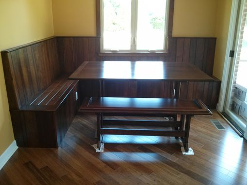 Custom Made Cherry Breakfast Nook