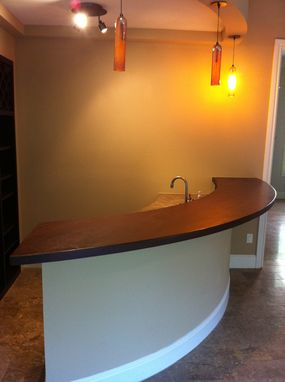 Custom Made Bar Tops That Add Warmth, Charecter