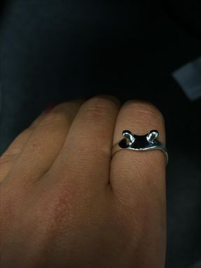 Custom Made Frog Ring