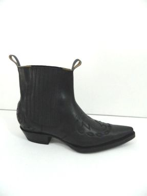 Custom Made Made To Order Wing Tips Ankle Boot Made To Your Size Different Leather And Color