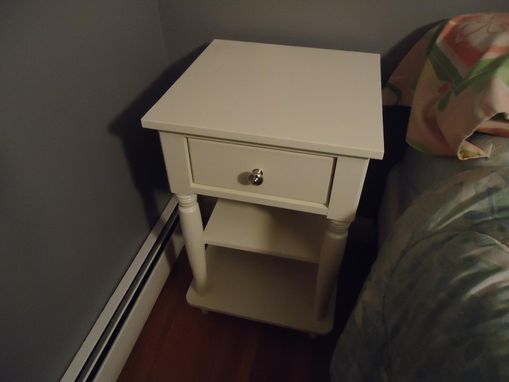 Custom Made Custom Nightstand