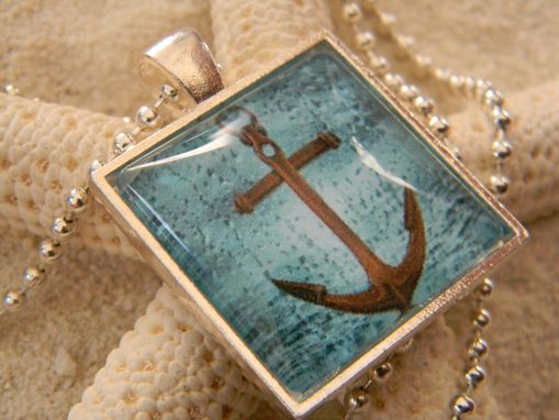 Custom Made Custom Picture Bezel Glass Pendant/Necklace