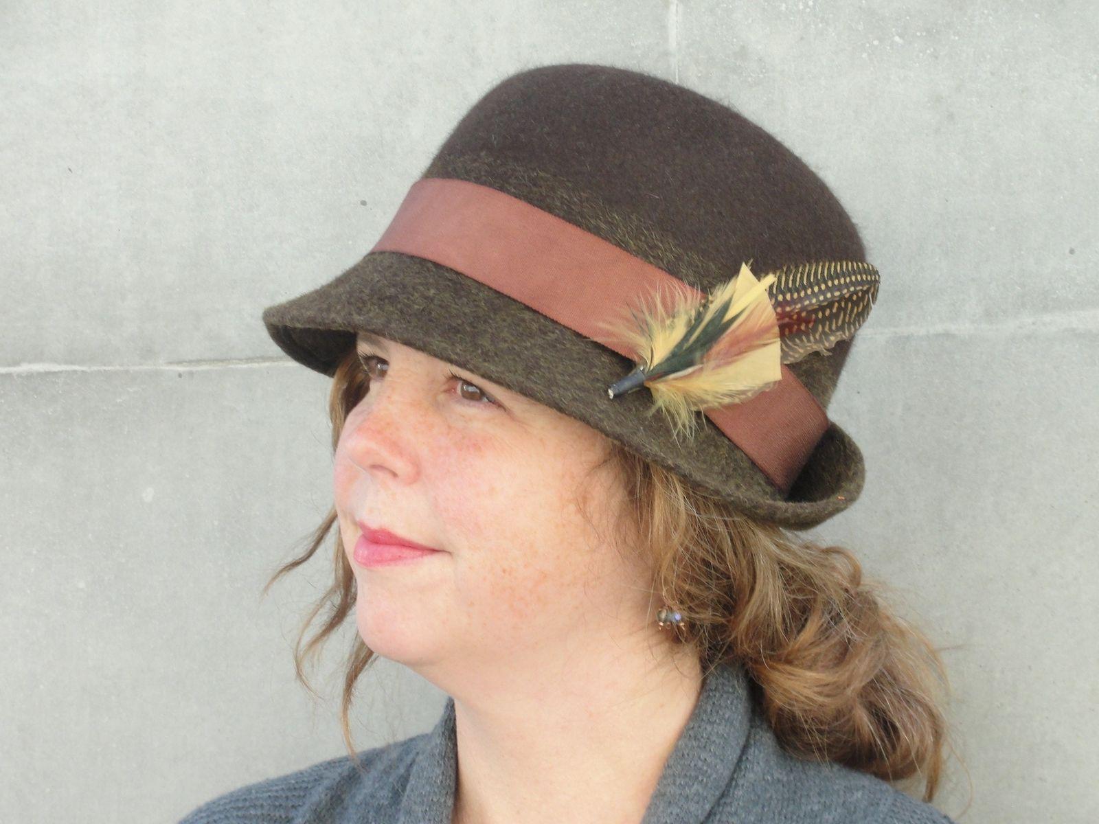Custom Made Women s Wool Felt Bowler Derby Hat-Custom Design Ladies Hat- Custom 5416af516088