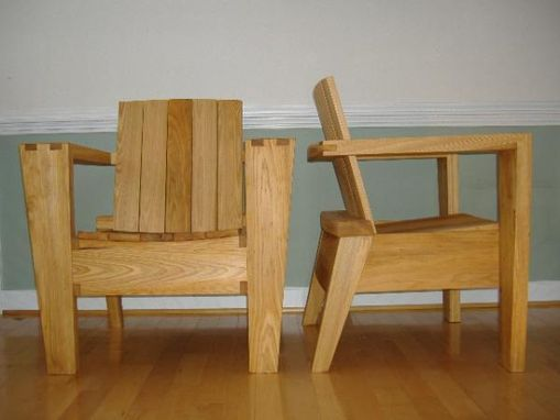 Custom Made Contempoary Outdoor Chairs