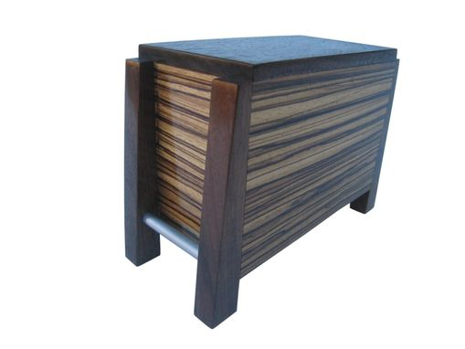 Custom Made Modern Cremation Urn In Stock And Ready To Ship - By Studio 1212 Furniture