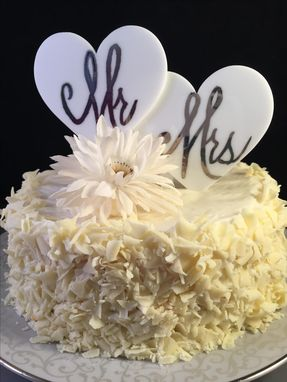Custom Made Personalized Wedding Cake Topper