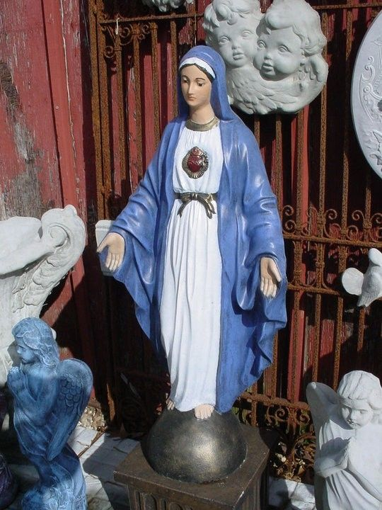 how to make a grotto for mary