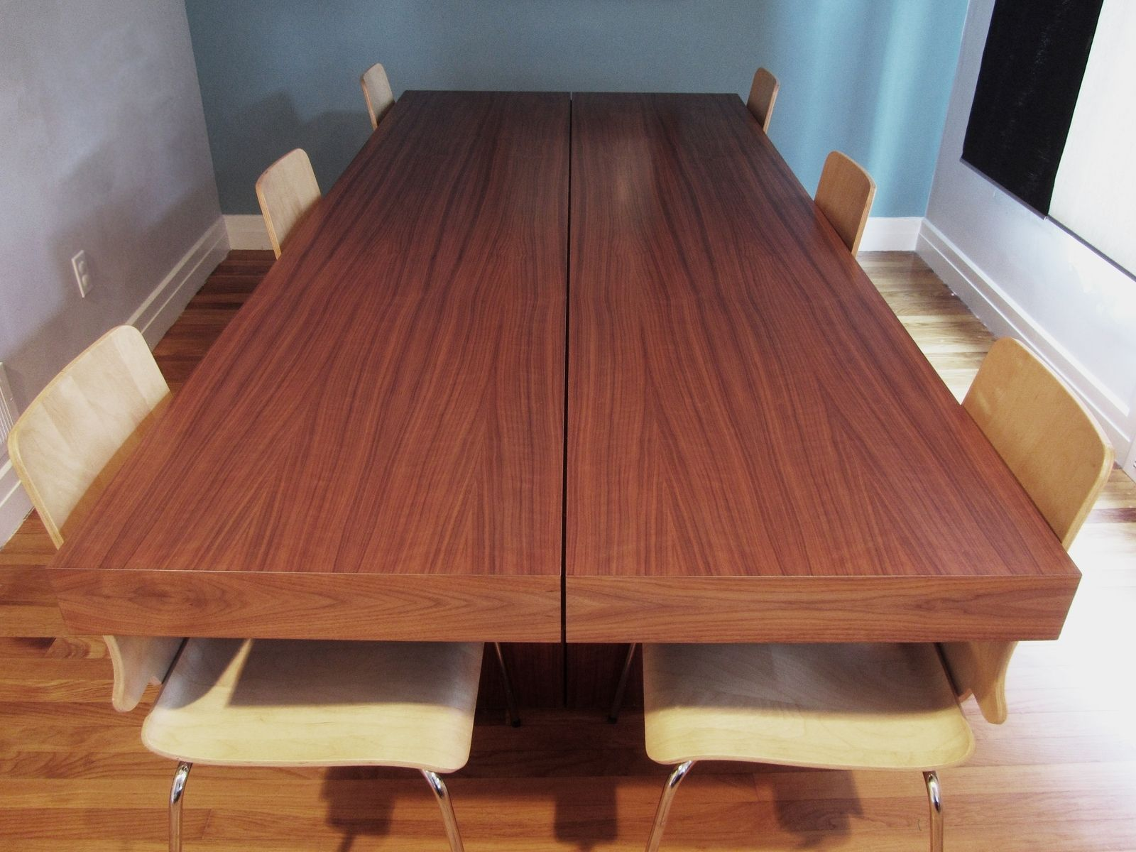 Hand Made Furnishings Modern Walnut Dining Table By Honore