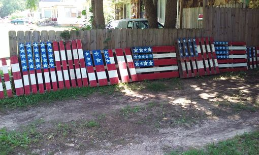 Custom Made Pallet Flag