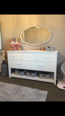 Custom Made Dresser/Changing Table