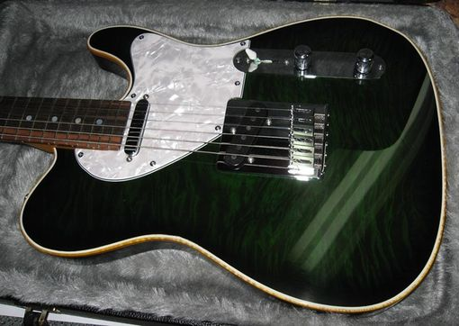 "Custom Made Green ""Tele"" Custom"