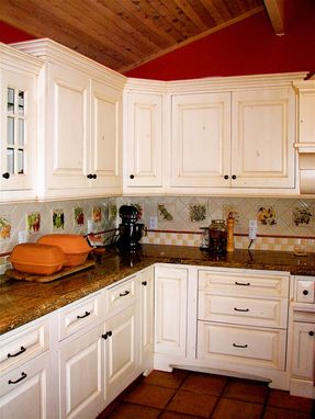 Custom Made Old World Cabinetry