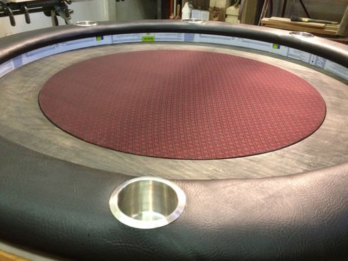 "Custom Made 60"" Round Poker Table"
