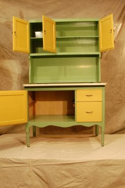 Hand Made Hoosier Cabinet Restoration By Jetwoodshop